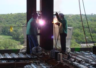 structural iron and steel workers image